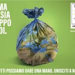 """""""Puliamo il mondo 2019"""" ritrovo sabato 21 settembre alle ore 9.30 presso parcheggio pista ciclabile corso Allamano - via Pavia"""