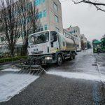Servizio straordinario di pulizia strade